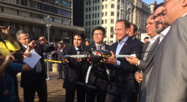 Prefeitura de São Paulo anuncia policiamento com drones pela GCM