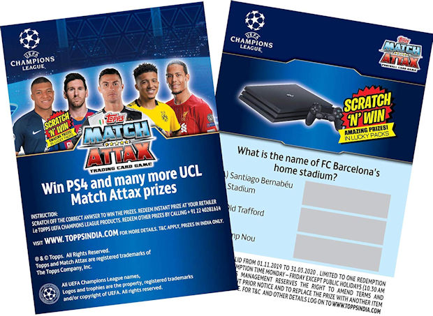 Topps Champions League 18//19 Trikots Sticker 175