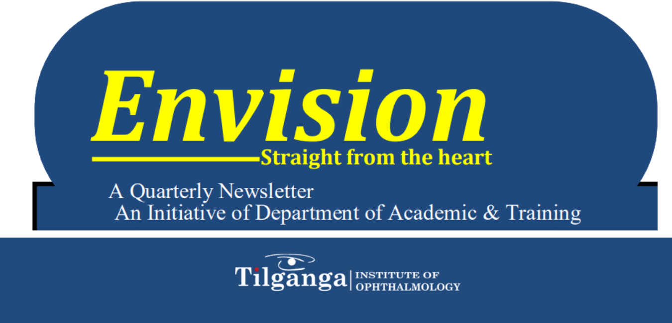 envision newsletter of Tilganga institute of ophthalmology