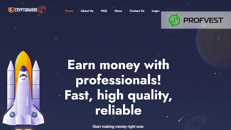 Crypto Aware Ltd обзор и отзывы HYIP-проекта