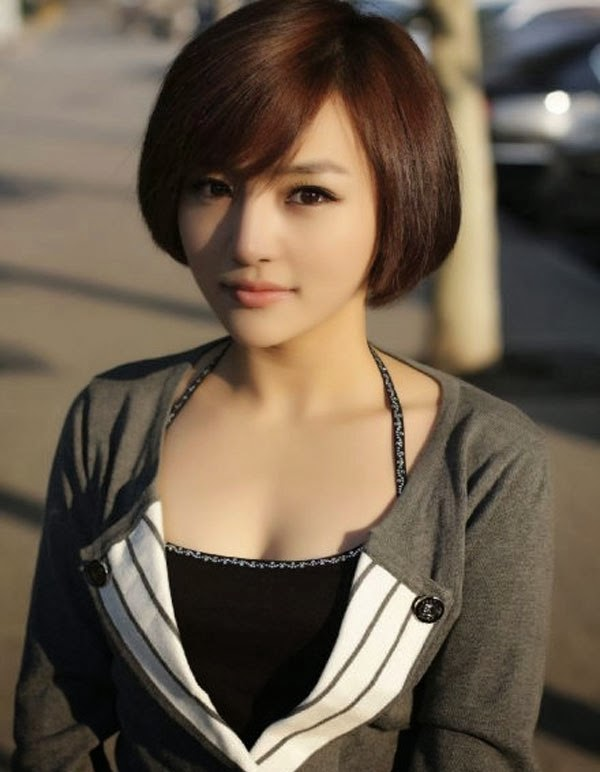 Tips model rambut pendek untuk wajah bulat | Trend Fashion ...