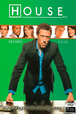 Dr. House Temporada 4 [720p] [Latino-Ingles] [MEGA]