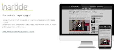Formato In-article de Infolinks