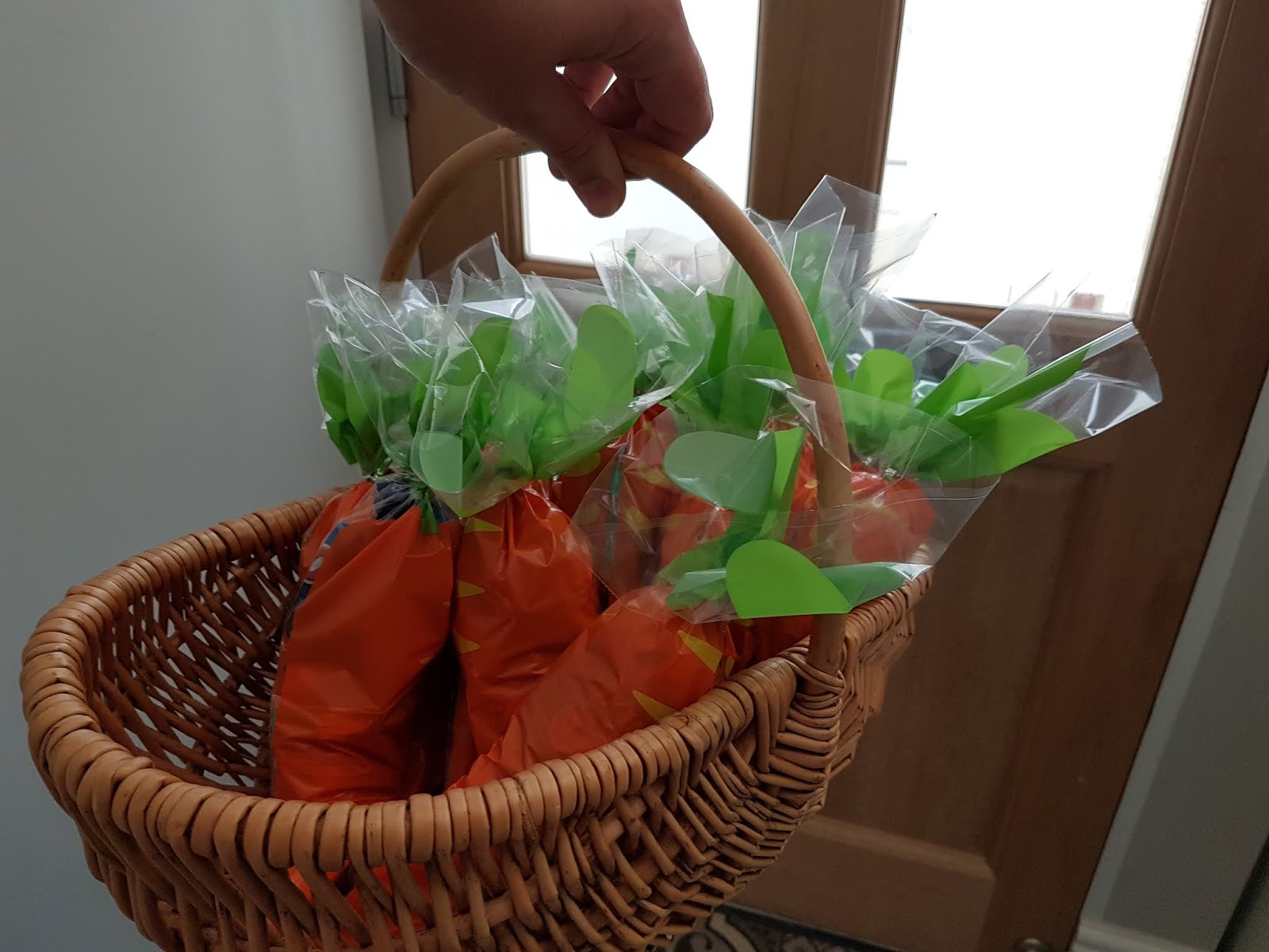 carrot party bags
