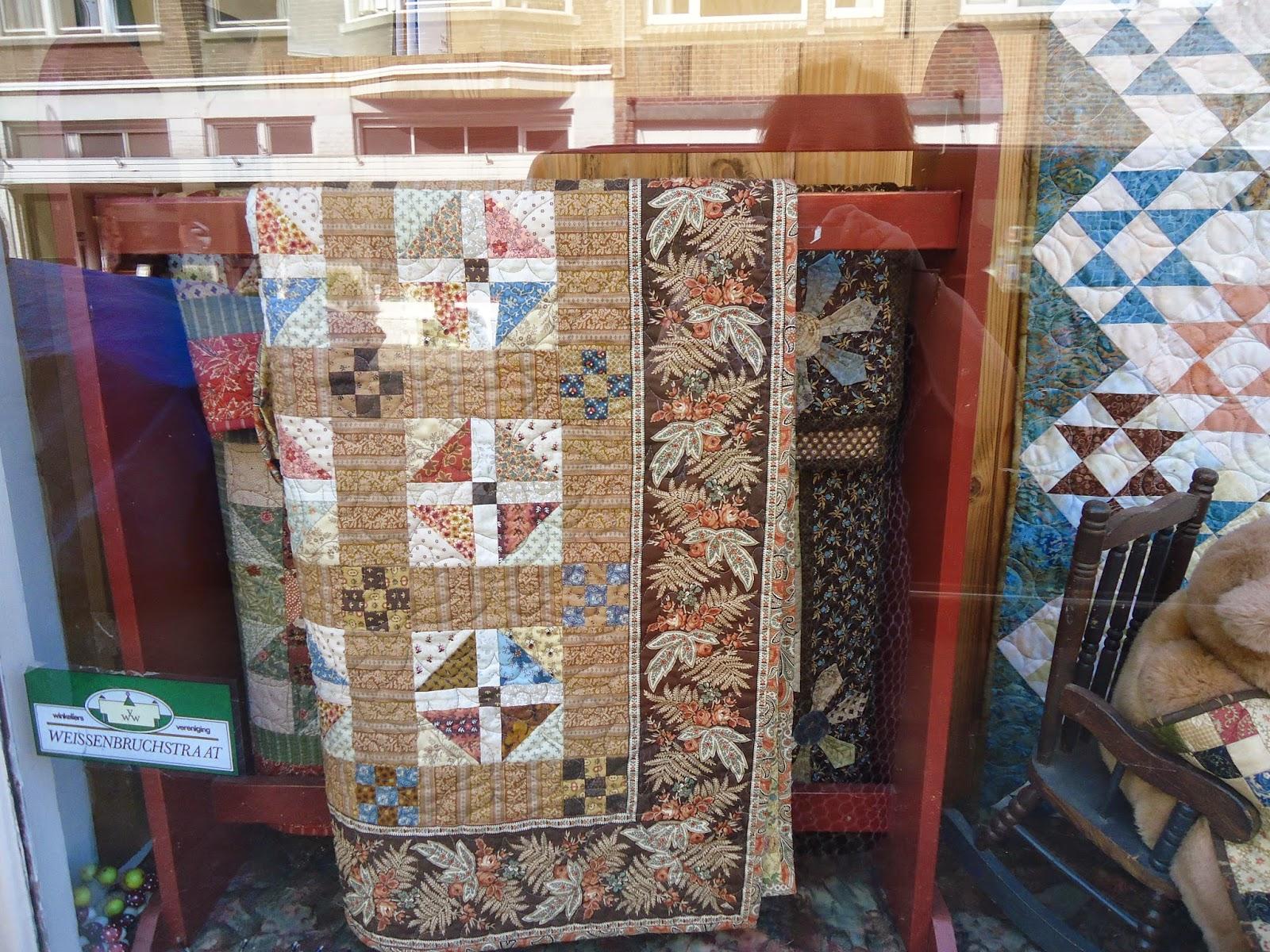 Patricia quilts at home: bezoek aan het quilterspalet in den haag ...