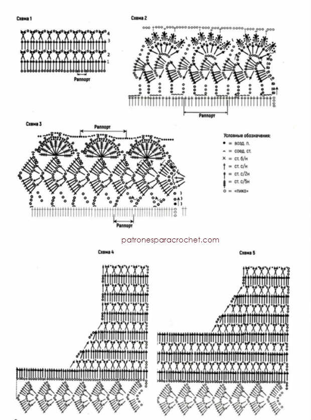 esquemas-crochet-de-puntos