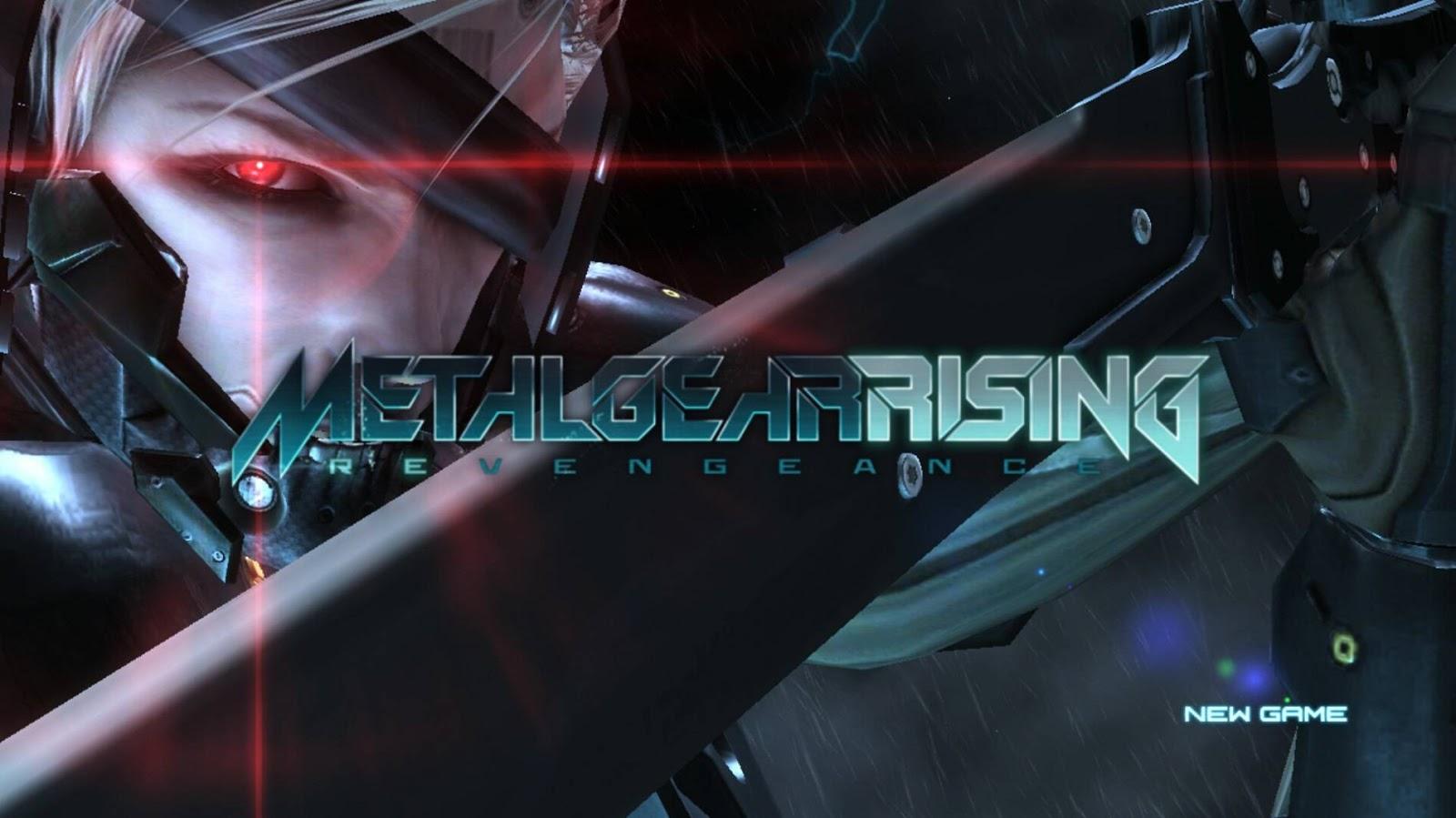 تحميل لعبة metal gear rising