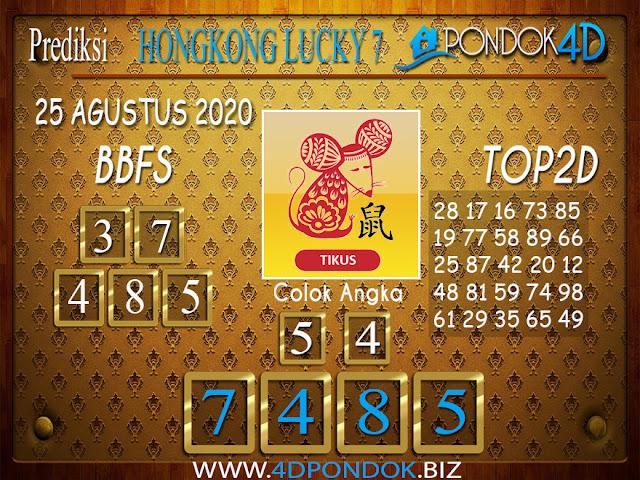 Prediksi Togel HONGKONG LUCKY 7 PONDOK4D 25 AGUSTUS 2020