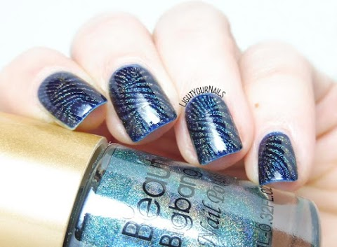 Abstract holographic stamping
