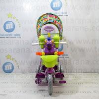 Sepeda Roda Tiga Royal RY9188CJ Unicorn Ayunan Jok Kain Kanopi