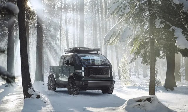Canoo unveils its electric pick-up truck
