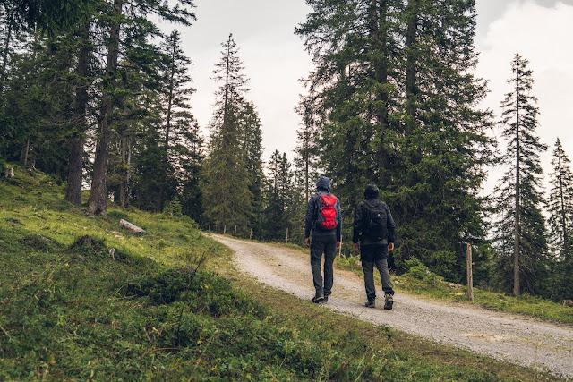 Regenwandern im Brandnertal Bürserberg Furkla Höhenweg + Kesselfall | Wandern Vorarlberg 07