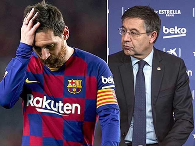 """Messi """"đau đầu"""" vì Covid-19: Lương giảm, tương lai với Barca bỏ ngỏ"""