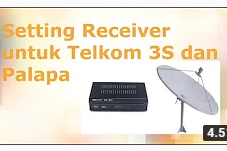 √ Frekuensi Satelit Telkom 3s Terbaru Juli 2019 MPEG2 MPEG4 HD Mhz