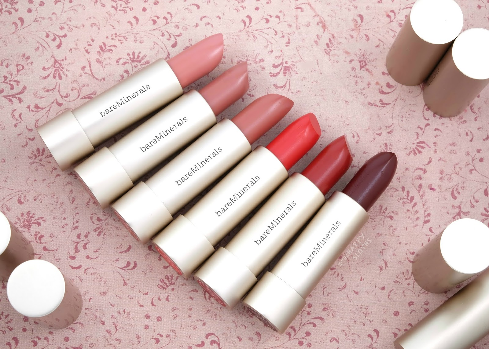 bareMinerals | Mineralist Hydra-Smoothing Lipstick: Review and Swatches