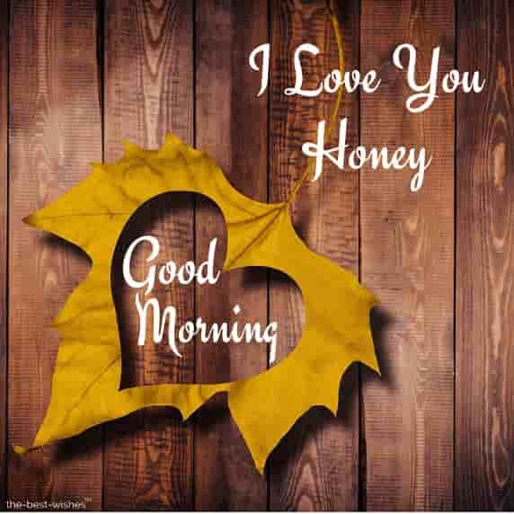 gm honey i love you