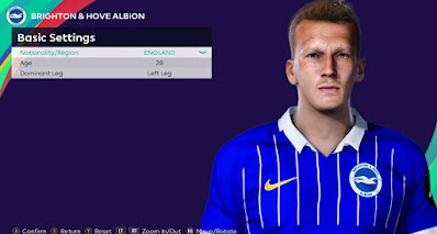 PES 2021 Faces Dan Burn by Rachmad ABs