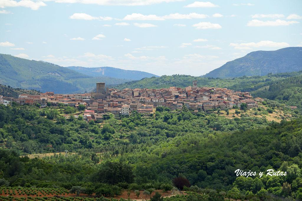 Vista general de Miranda del Castañar, Salamanca