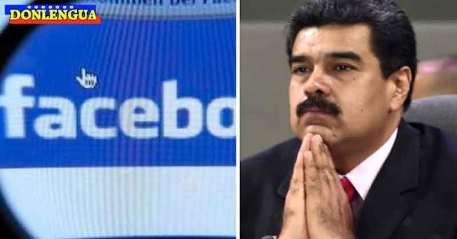 Facebook bloqueó la página de Nicolás Maduro por propagar noticias falsas