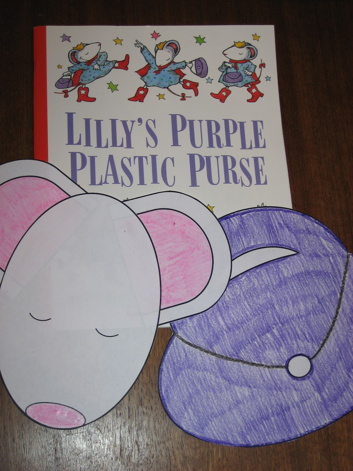 Kindergarten At Heart Lilly S Purple Plastic Purse
