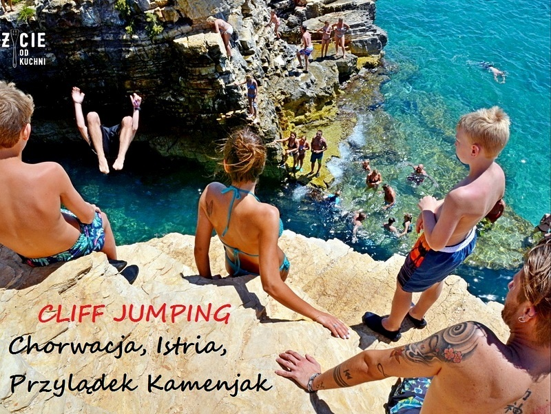 cliff jumping, kamenjak,
