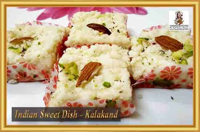 Indian Sweet Dishes - Kalakand