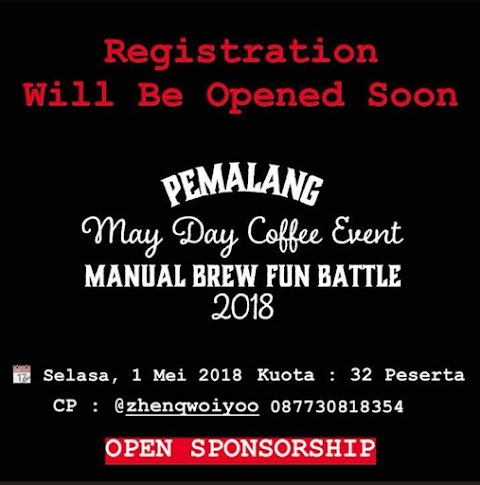 May Day Coffee Event