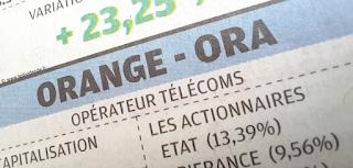 action Orange SA dividende exercice 2021
