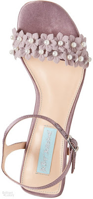Brilliant Luxury♦Betsey Johnson Snow Evening Sandals