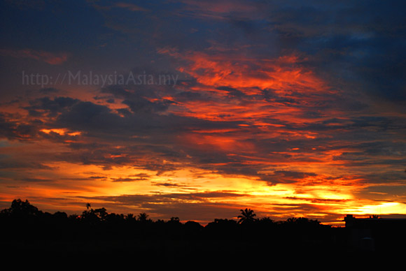 Mersing Sunset PHoto