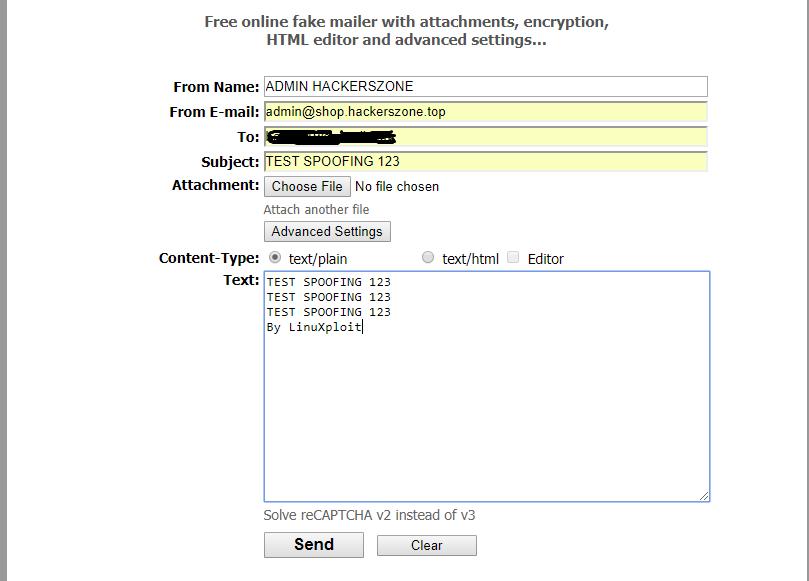 Berburu Celah Email Spoofing Dengan Tools