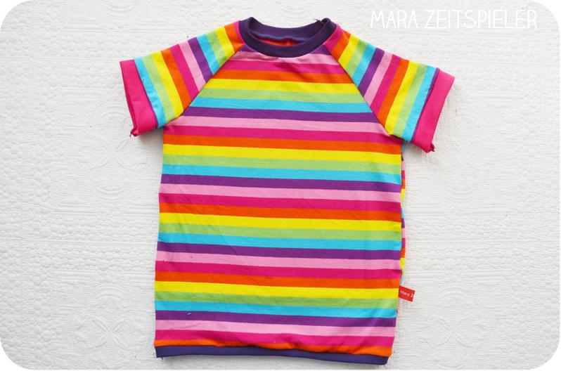 Regenbogen T Shirt Mara Zeitspieler
