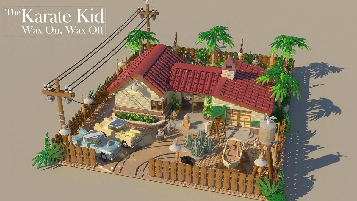 レゴアイデアで『ベストキッド:ワックスオン, ワックスオフ』が製品化レビュー進出!2021年第1回1万サポート獲得デザイン紹介