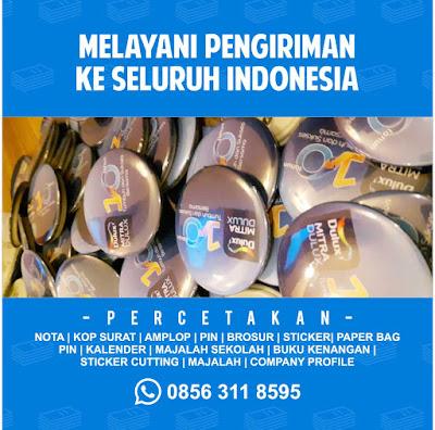 Percetakan Pin di Surabaya