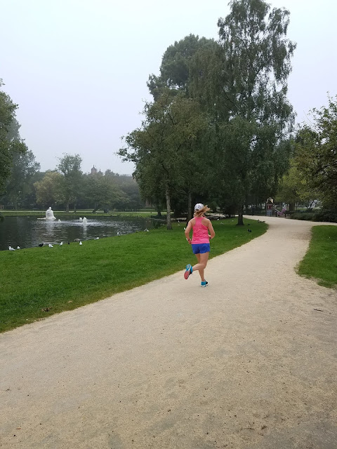 early morning run - running in Amsterdam - Westerpark