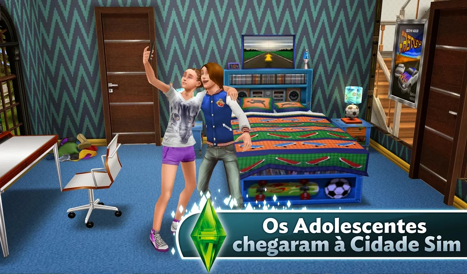 apkvol - Modded Android Games : The Sims FreePlay v2 7 12