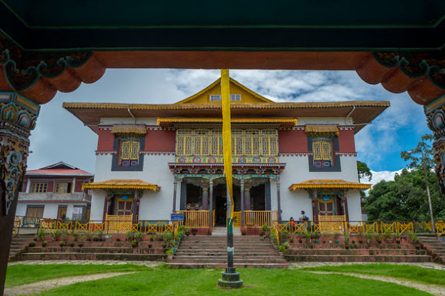 Pemayangtse monastery sikkim travel blog photo