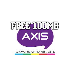 Gratis 100MB Axis 2020
