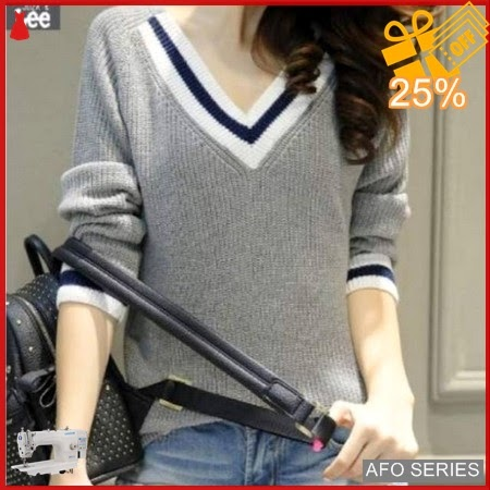 AFO559 Model Fashion Vilis Seker Grey Modis Murah BMGShop