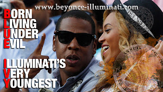is beyonce in the illuminati blue ivy