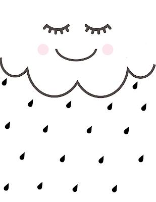 Faça Você Mesmo - Colcha de Berço Nuvem e Pestanas (eyelashes)