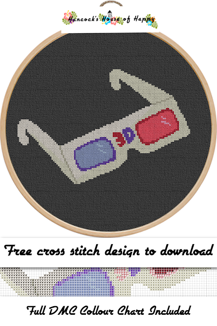 Random Remnants! Funky Vintage Retro Free 3D Glasses Cross Stitch Pattern, 3D glasses cross stitch pattern, retro cross stitch pattern, vintage cross stitch pattern, movie cross stitch pattern, cross stitch funny, subversive cross stitch, cross stitch home, cross stitch design, diy cross stitch, adult cross stitch, cross stitch patterns, cross stitch funny subversive, modern cross stitch, cross stitch art, inappropriate cross stitch, modern cross stitch, cross stitch, free cross stitch, free cross stitch design, free cross stitch designs to download, free cross stitch patterns to download, downloadable free cross stitch patterns, darmowy wzór haftu krzyżykowego, フリークロスステッチパターン, grátis padrão de ponto cruz, gratuito design de ponto de cruz, motif de point de croix gratuit, gratis kruissteek patroon, gratis borduurpatronen kruissteek downloaden, вышивка крестом