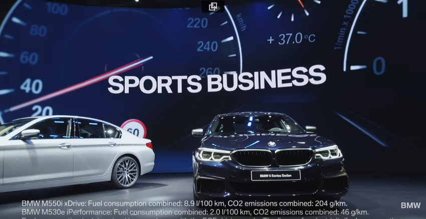 BMW at the NAIAS 2017. North American International Auto Show.