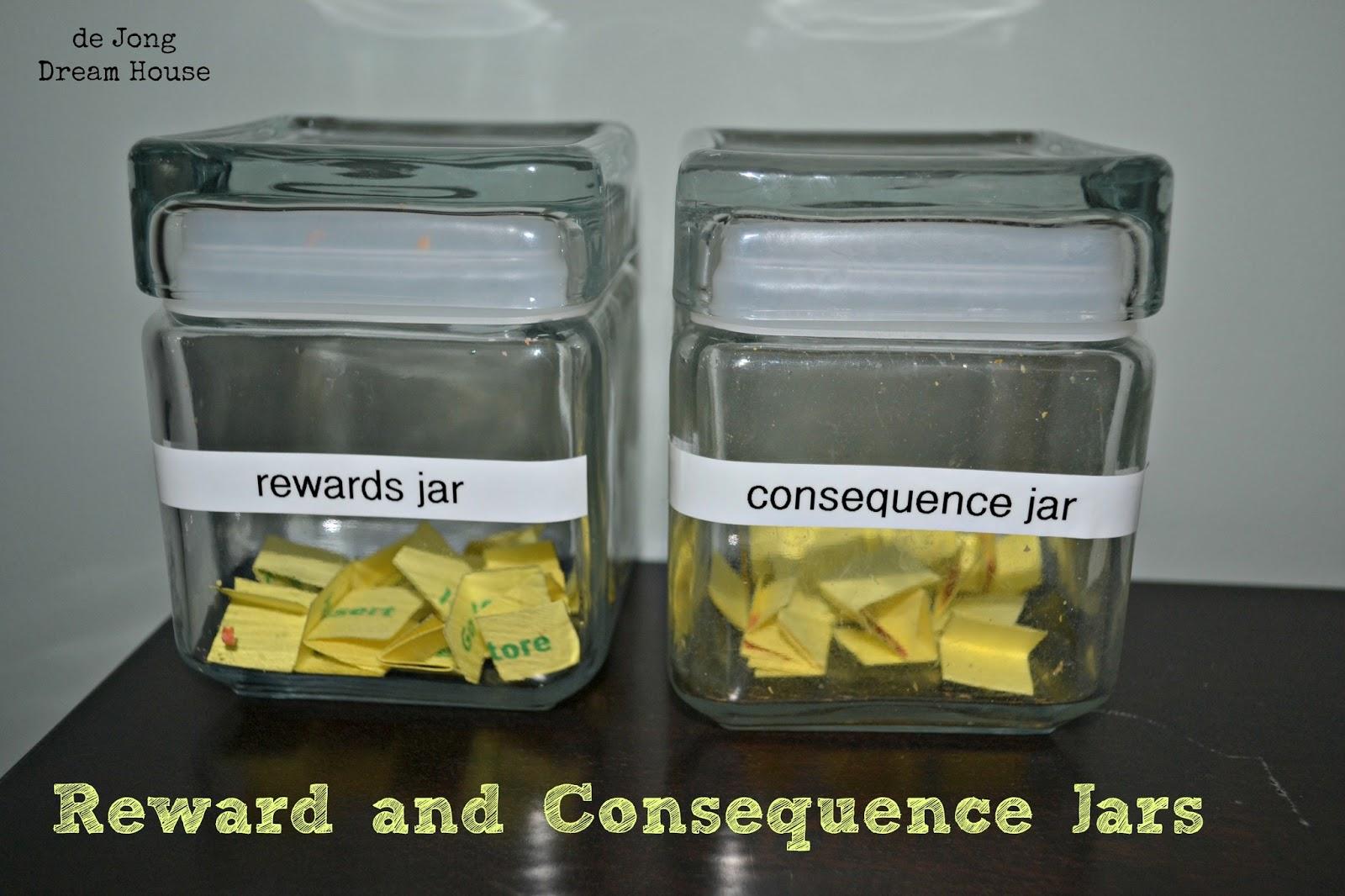 De Jong Dream House Reward And Consequence Jars