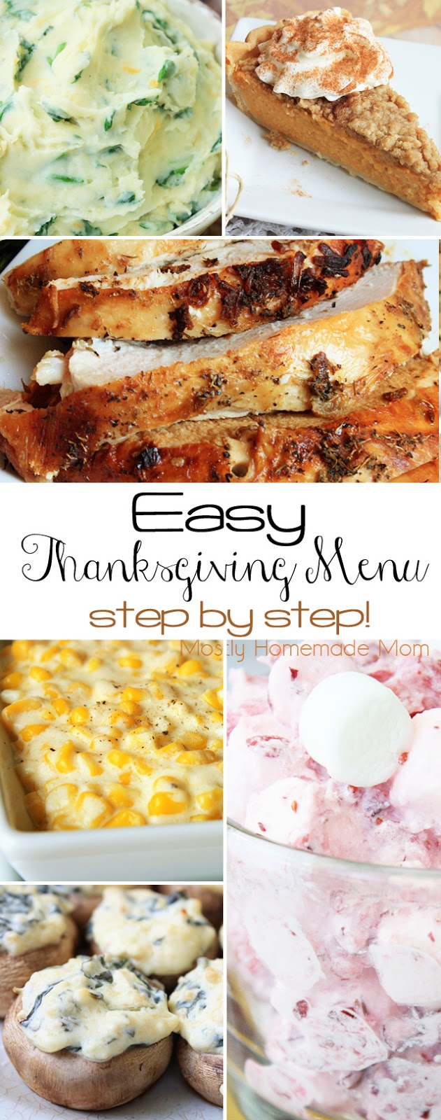 thanksgiving dinner menu ideas