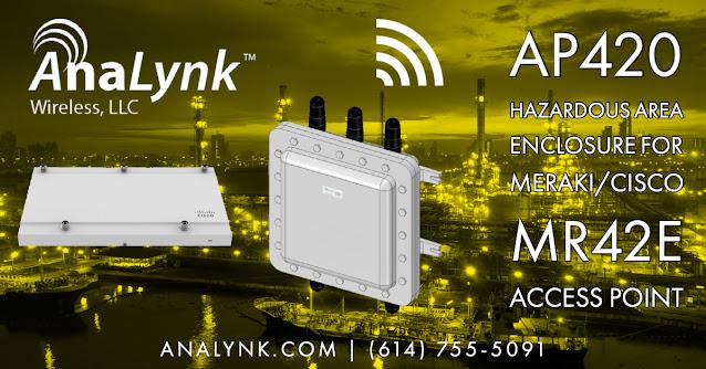AP420 Explosion Proof Access Point Enclosure For Meraki/Cisco MR42E