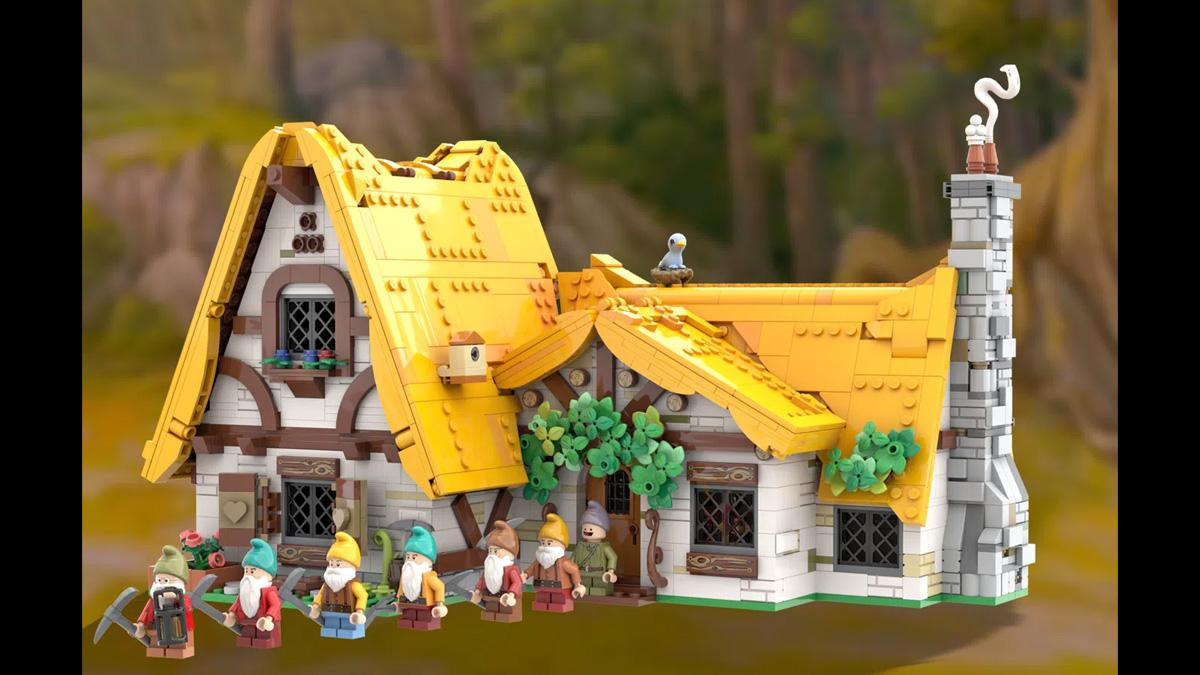 レゴアイデアで『白雪姫と七人のこびと』が製品化レビュー進出!2021年第1回1万サポート獲得デザイン紹介