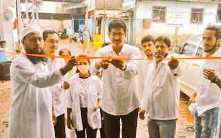 अनिल गलगली ने किया मेडिकल शिविर का उद्घाटन | #NayaSaberaNetwork