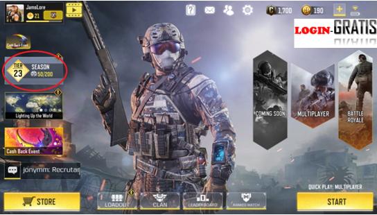 Akun COD Gratis, Akun Call of Duty Mobile Gratis, Akun call of Duty gratis no tipu, kumpulan akun Call Of Duty gratis terbaru