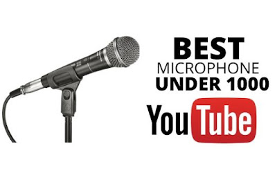 Best microphone for Youtube under 1000 in 2020